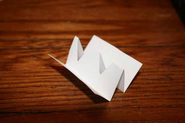 Survival Whistle Out of Paper