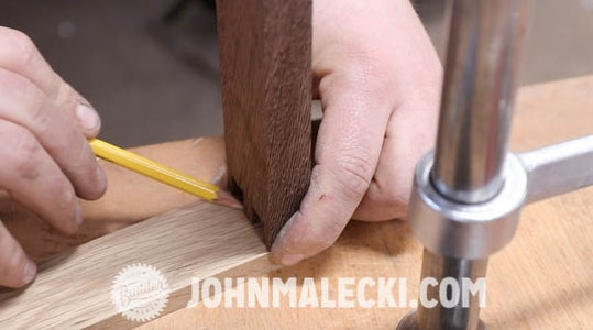 Cut Drawer Parts & Joinery (Half Blind Dovetails)