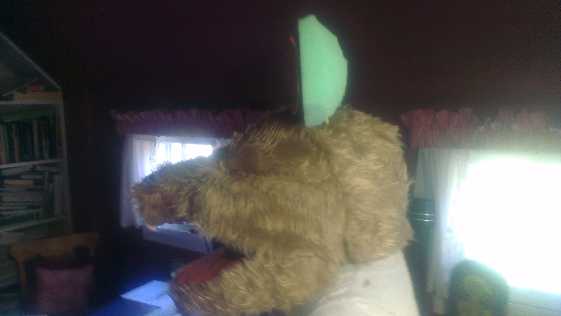 Covering the Headpiece - Snout