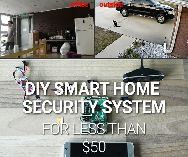 DIY Smart Home Security System for <$50