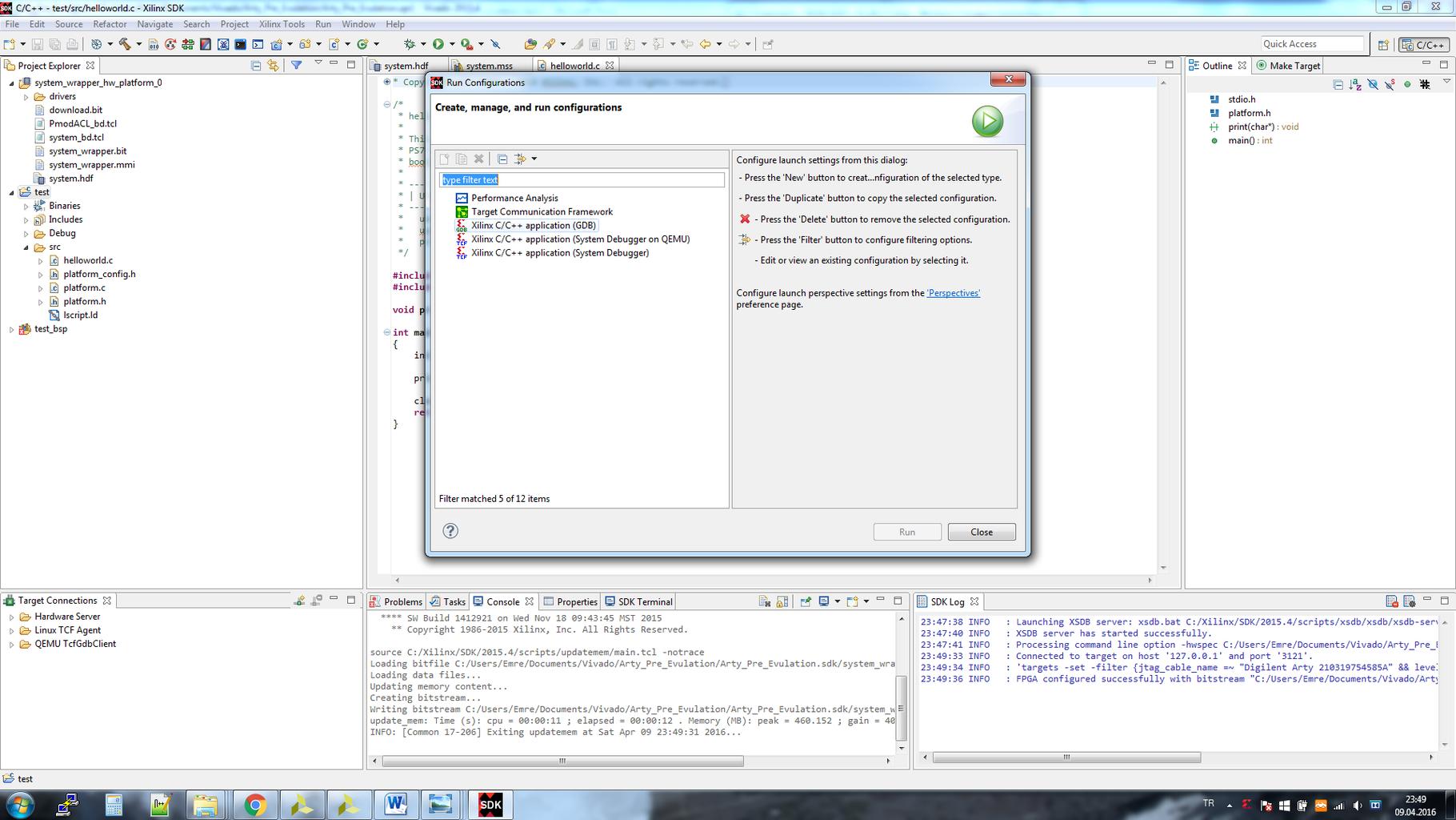 SDK PROGRRAMMING C/C++