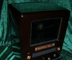 The Televisor, a Dieselpunk Computer