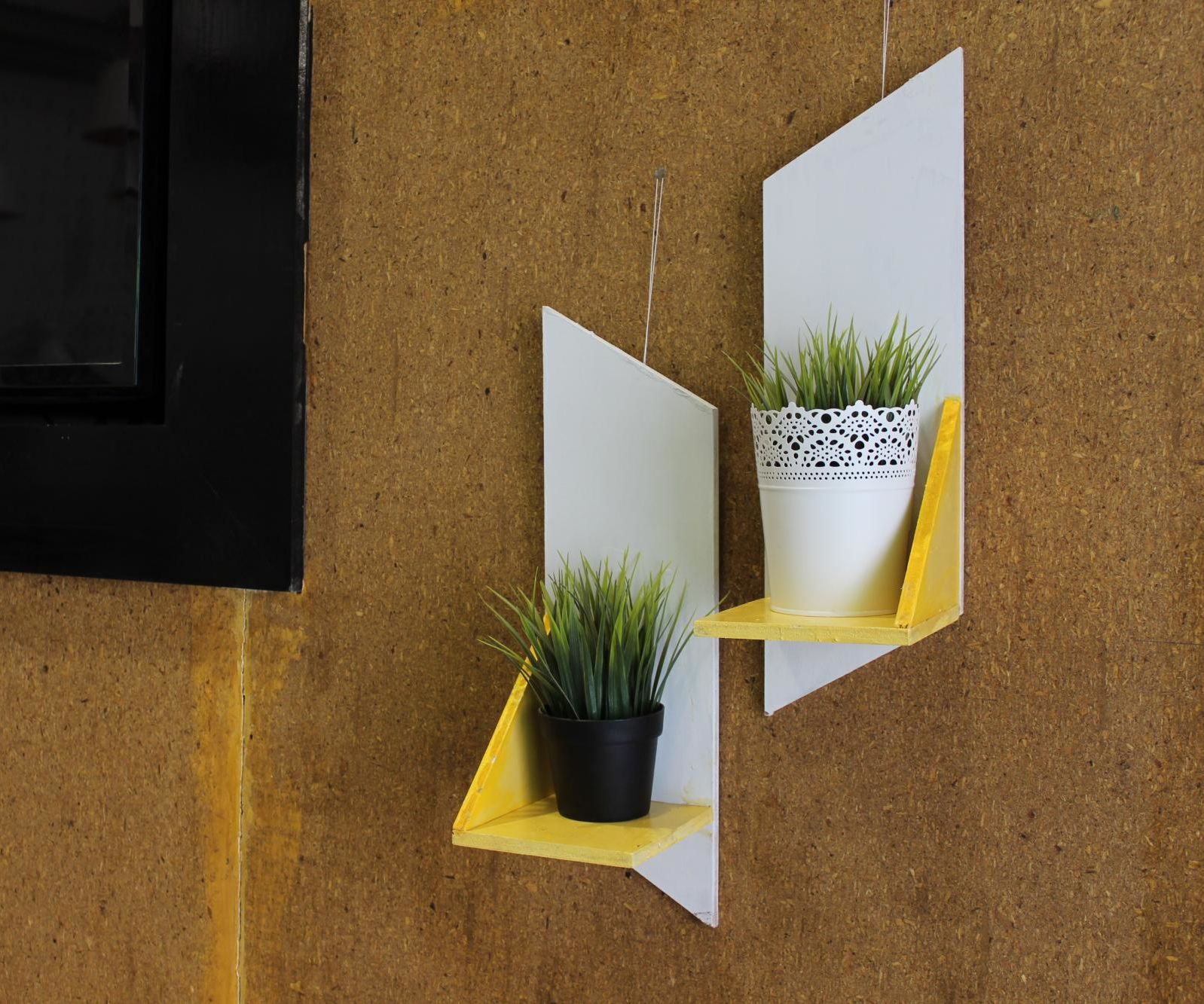 Simple Wooden Wall Sconces