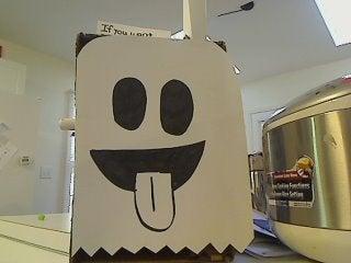 Boo! the Halloween Candy Dispenser