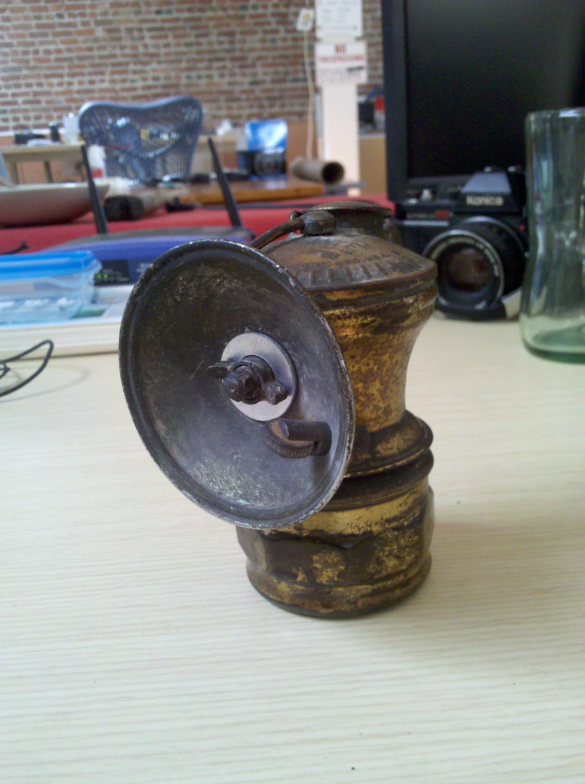 Rebuild A Carbide Lamp