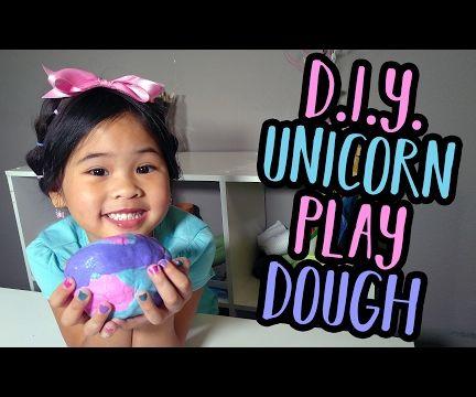 DIY Unicorn Play Dough | Super Soft Play Dough Recipe
