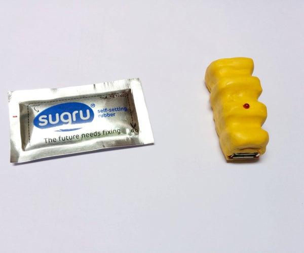 Virtual USB Charger Using Sugru