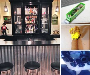 [newsletter] Cupboard to Bar, Water Powered Flashlight, Open Hardware Robotic Arm