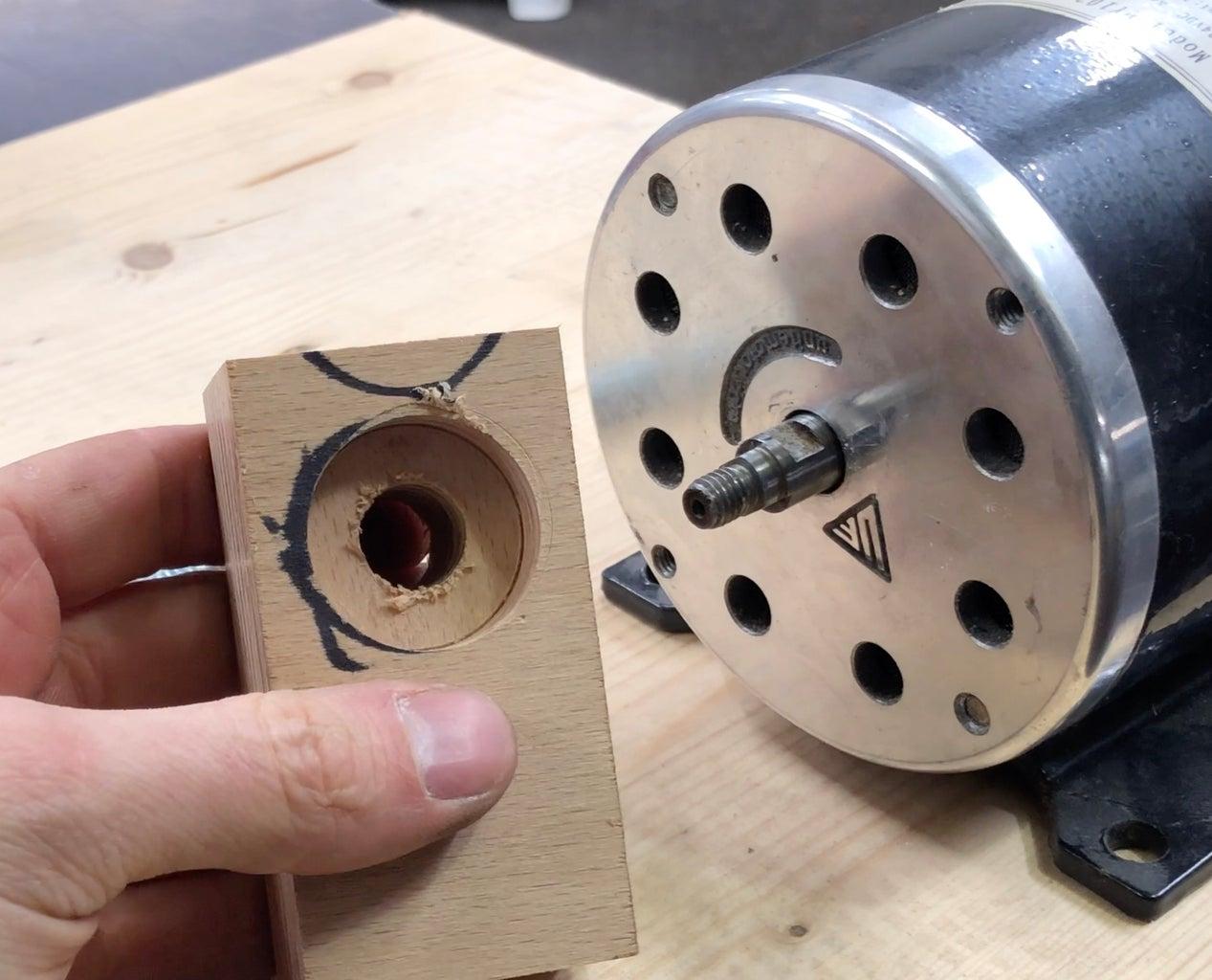 Make Some Bearing Blocks.
