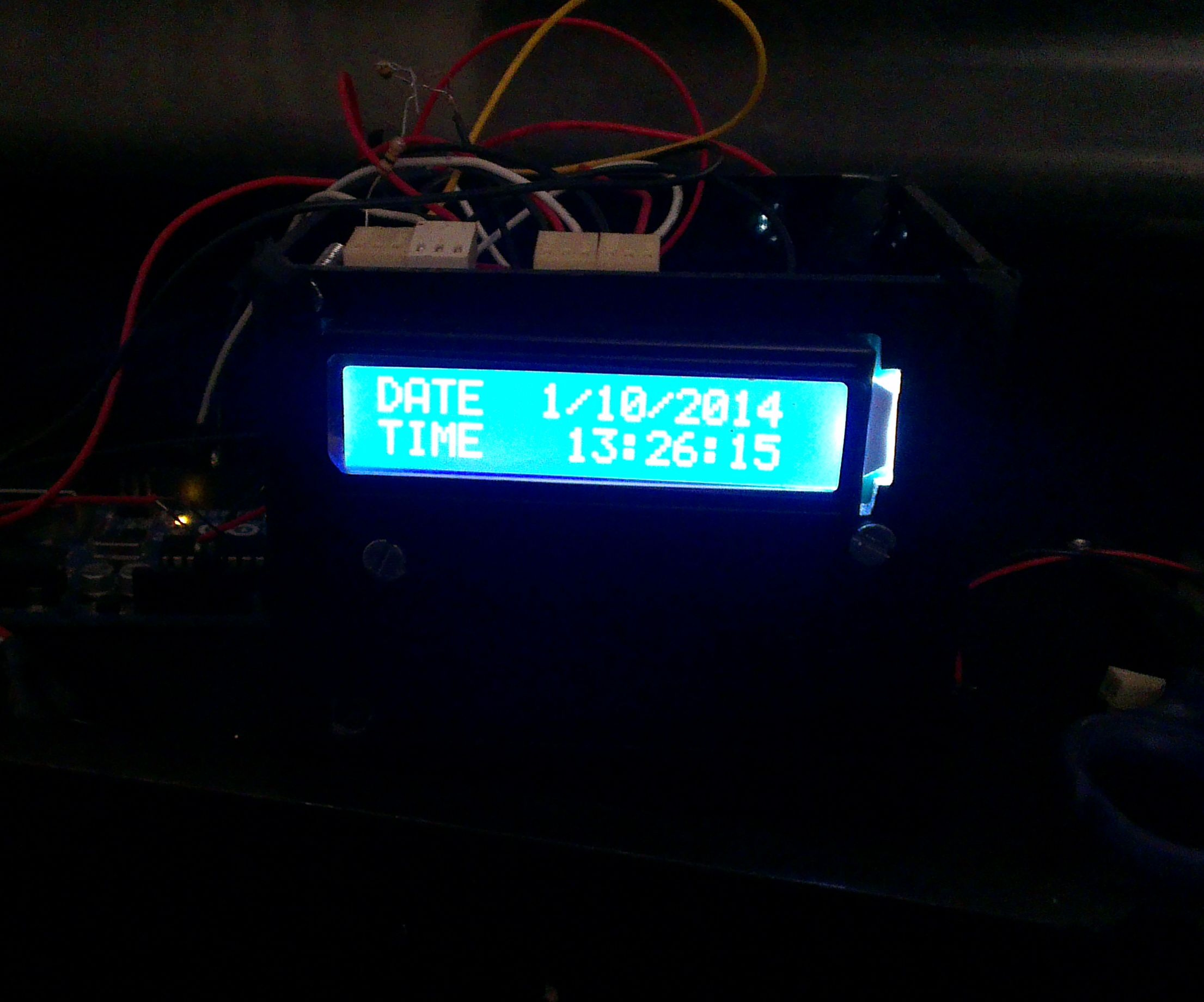 RTC ds1307 Arduino based Alarm System
