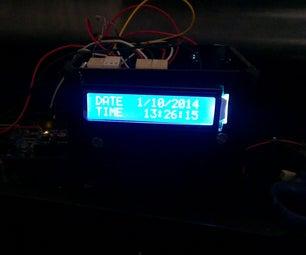 RTC Ds1307 Arduino Based Alarm System