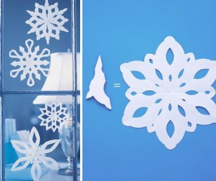 How to make a Snowflake with Paper
