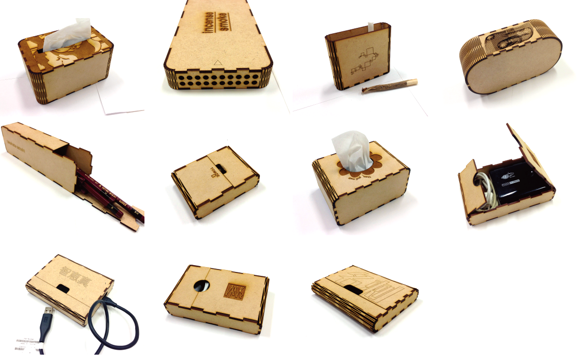 [CuttingBoxTool] -How to make a box of various sizes-