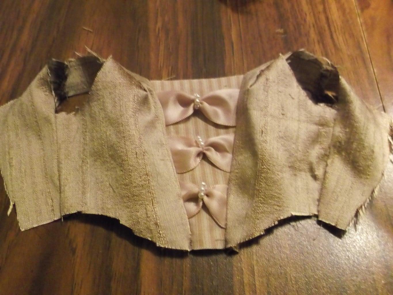 Dress Part 2: Bodice Decoration & Construction