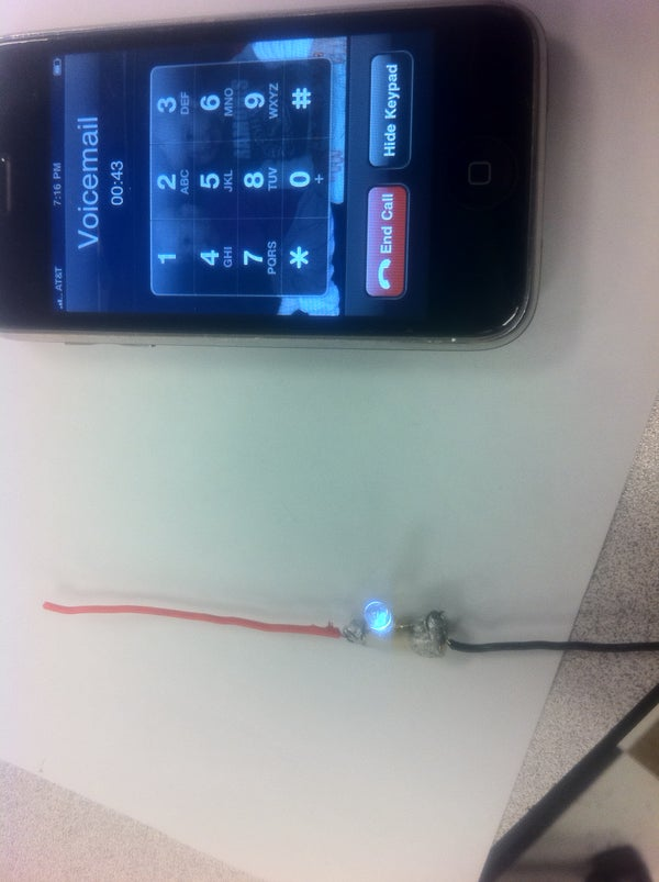 Free Energy/ Cellphone Detector (From Cellphone Antenna)