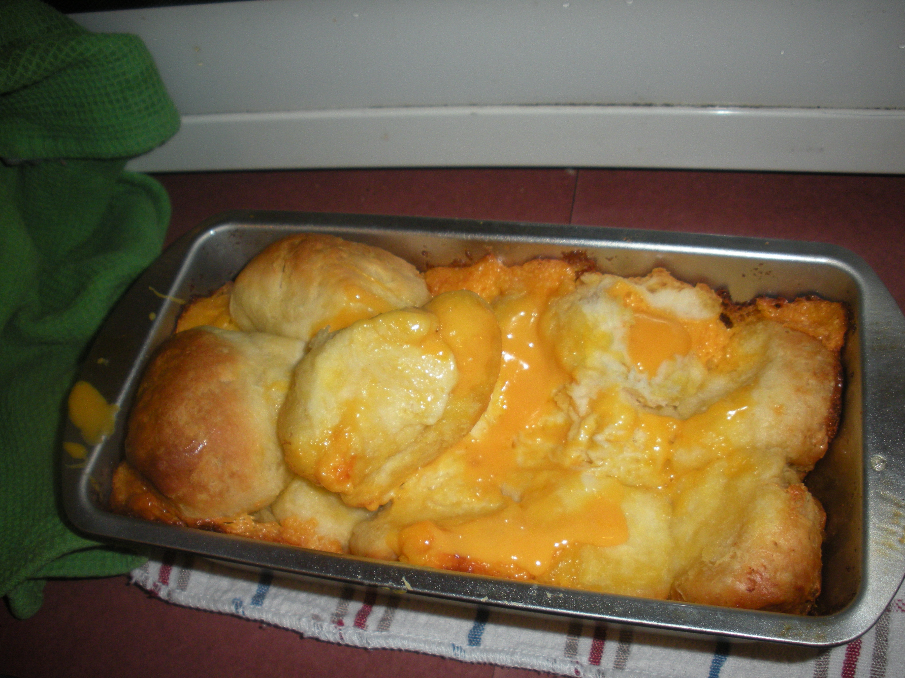 Cheesey pull bread