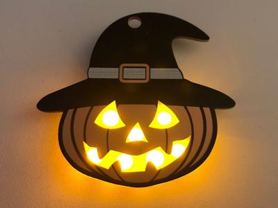 Electrical LED Badge