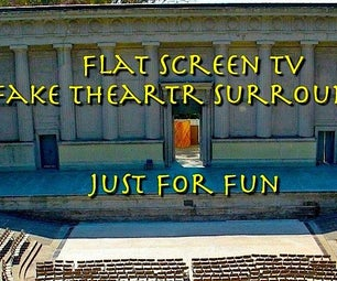 Fun Flat Screen Surround