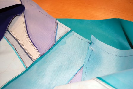 Prepping and Fish Stitching
