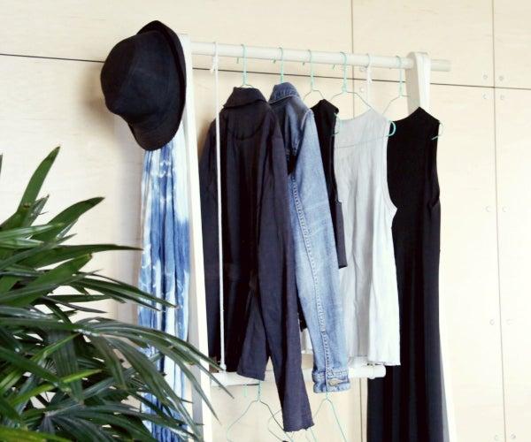 No Closet Storage Solution