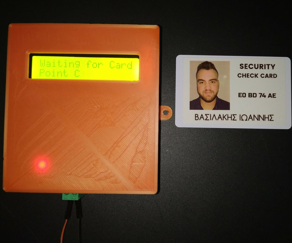 Arduino Security Check RFID System