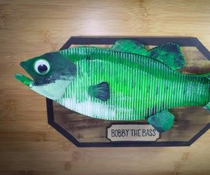 DIY Singing Fish - Bobby the Bass