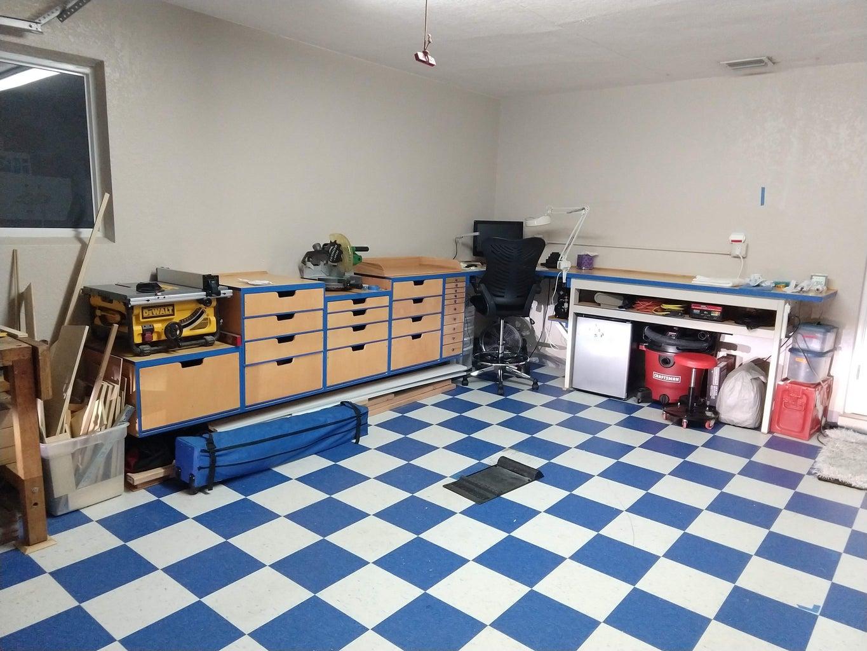 Complete Garage Re-do PART 2