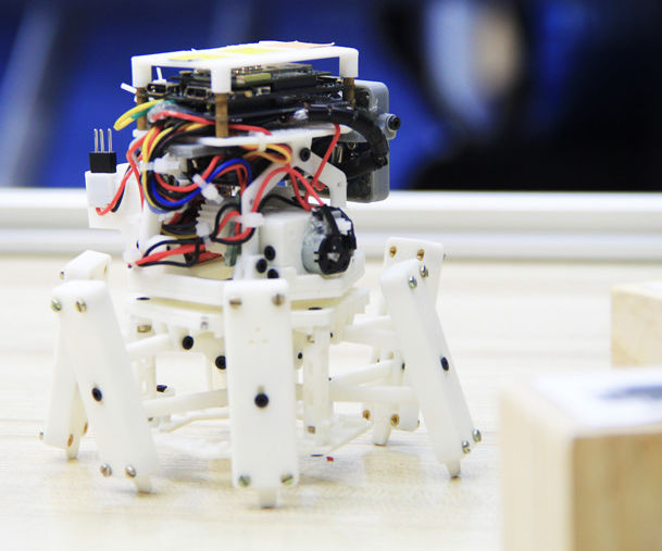 Xpider -- the smallest smart robot spider in the world