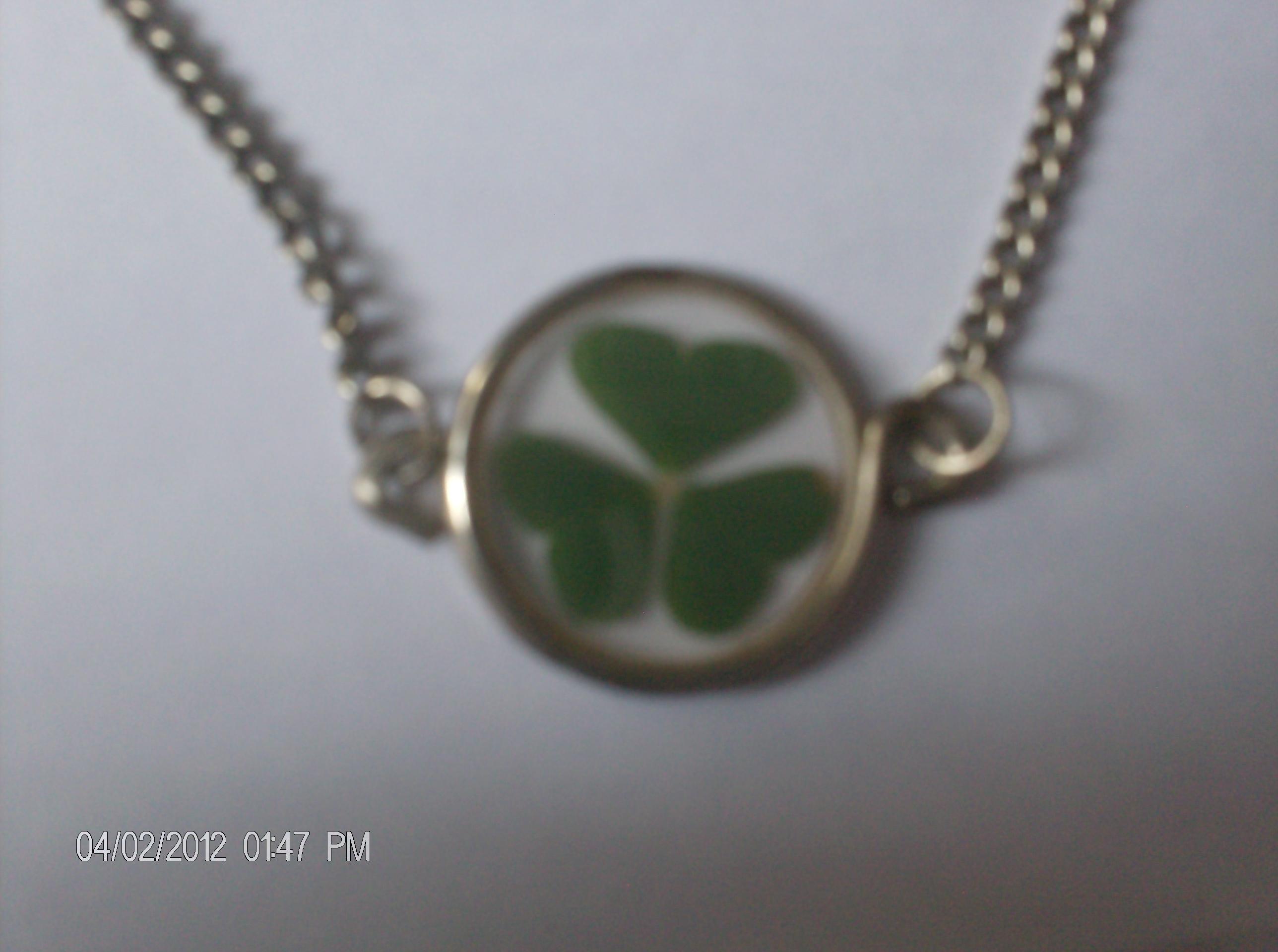 Easy scrap necklace