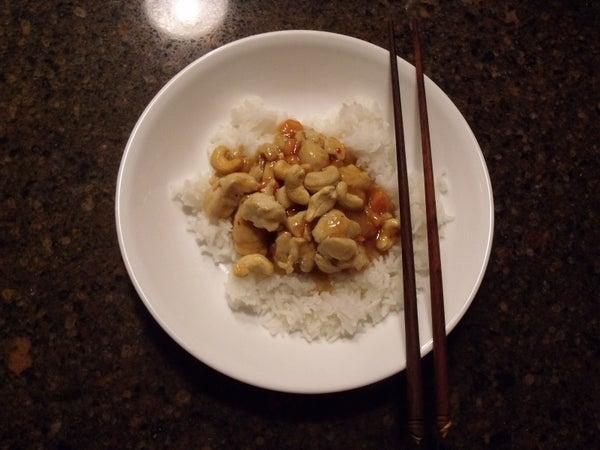 Orange Chicken & Rice