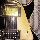 E-Guitar Pickguard + Pickholder!