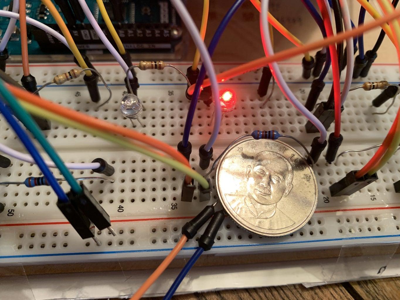 Part 2 - Button & LEDs + Turtle Decoration