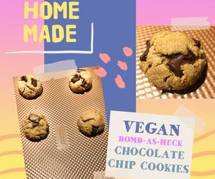 Bomb-As-Heck Vegan Chocolate Chip Cookies