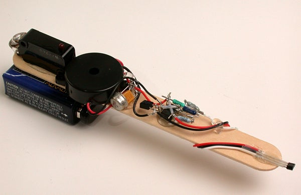 Magno-Sniffer (Magnetic Sniffer Probe Whistler Thing Using a Hall Effect Sensor)