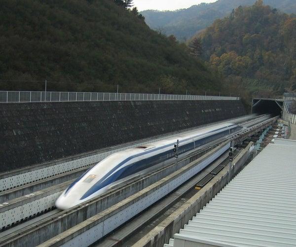 Simple MagLev Train