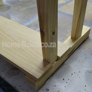 Attach Top of Desk to Base