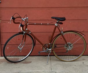 Pimp My Bicycle... With Leather!