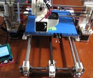 Building a Prusa I3 3D Printer - Revisited