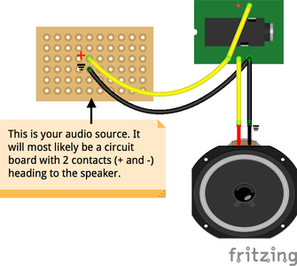 Wire Up the Audio Jack