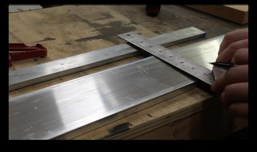 Cutting the Metal Base (1/6)