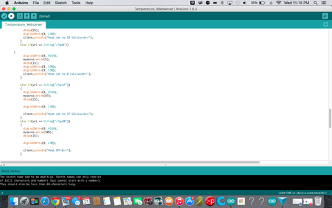 Upload Sketch to Linkit ONE