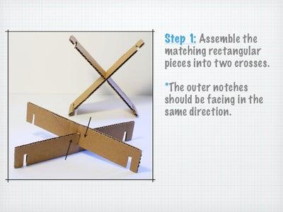 Assembling the Crosses.