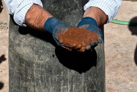 Using a Concrete Mixer