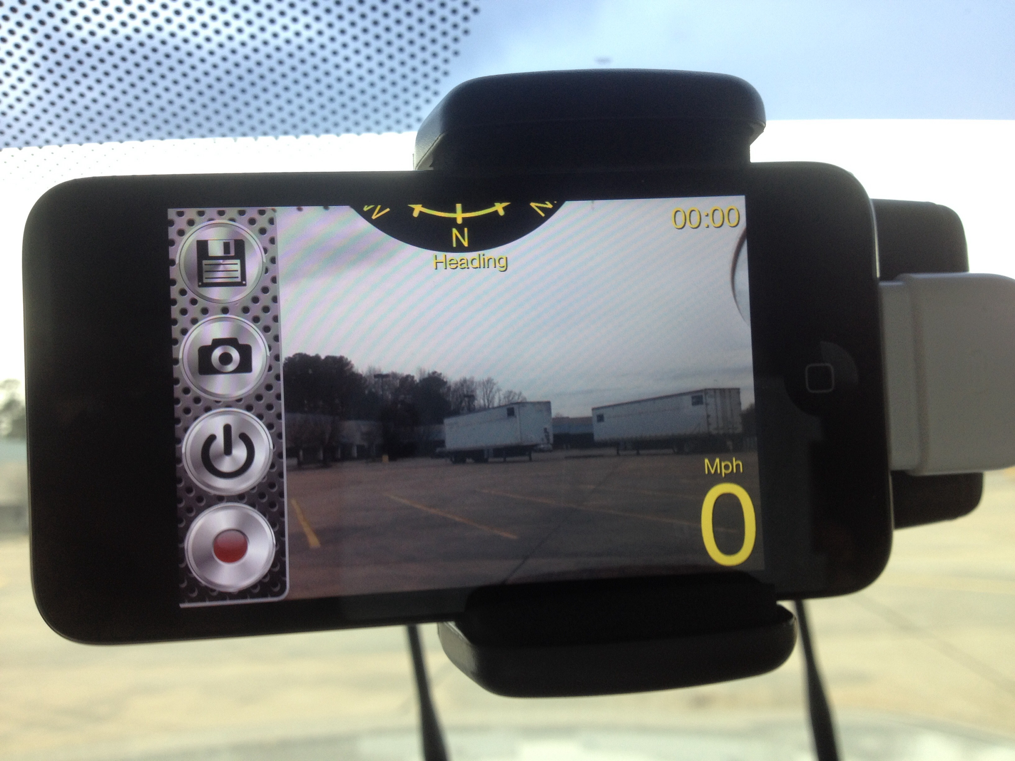 iPod Dash Cam