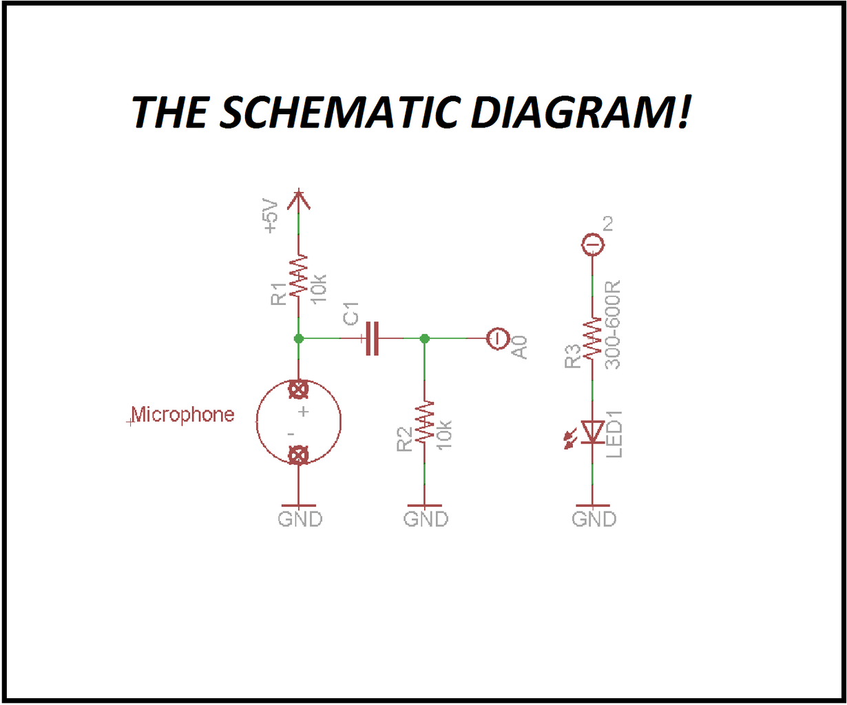 The Schematic Diagram!