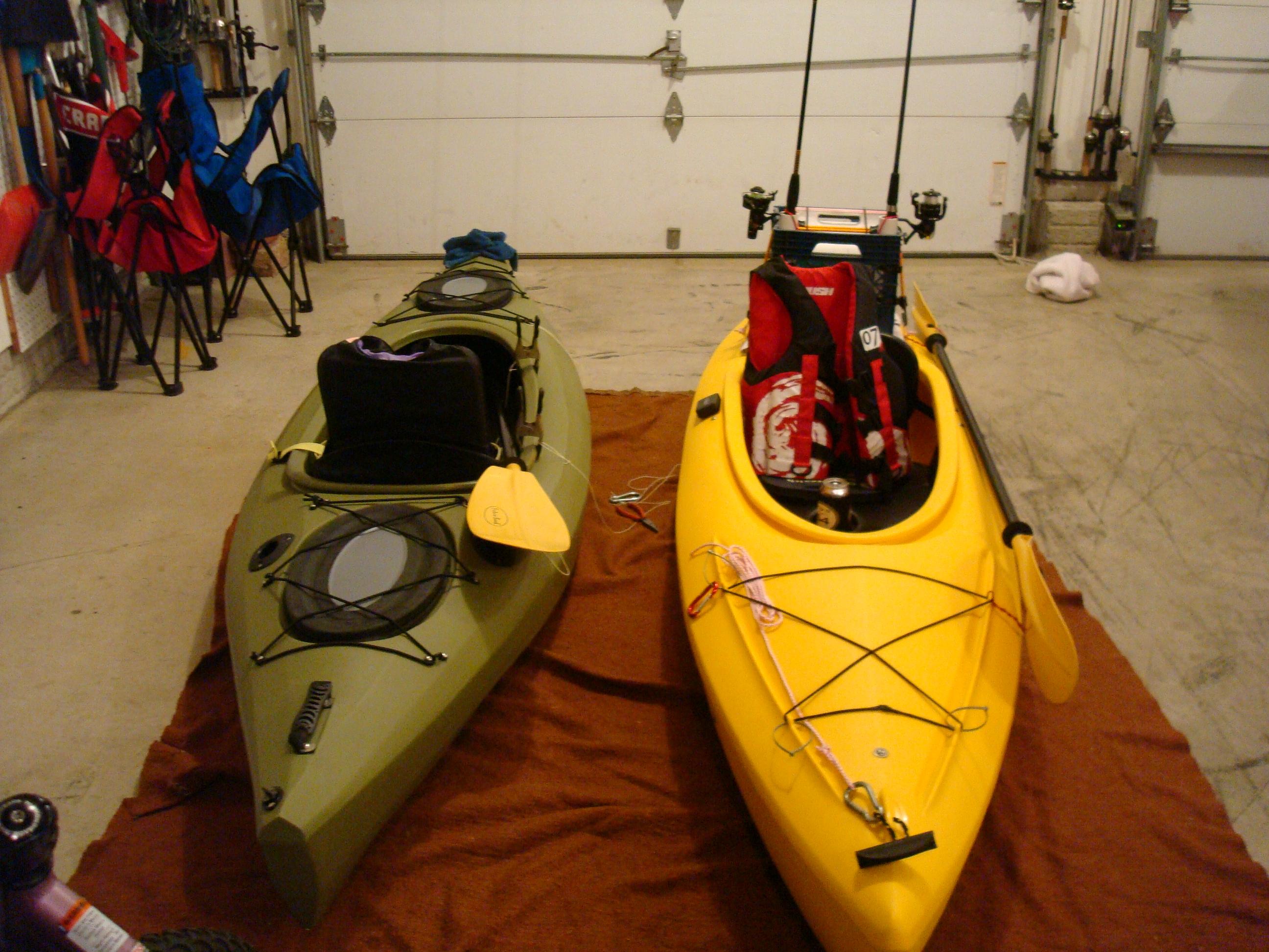 Rigging a SINK (sit-in-kayak) for fishing