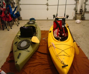 Rigging a SINK (sit-in-kayak) for fishing