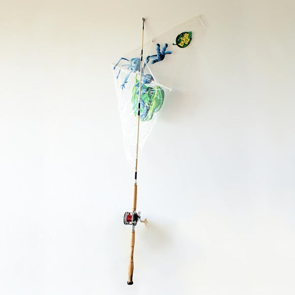 Use Fishing Tackle to Fly a Kite