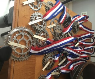 Diy Bike Gear Medal