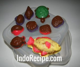Peanut Butter Fudge Filled Chocolate